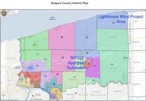 niagara county districts & project areas